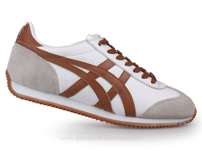 Onitsuka Tiger California 78 White Brown Shoes