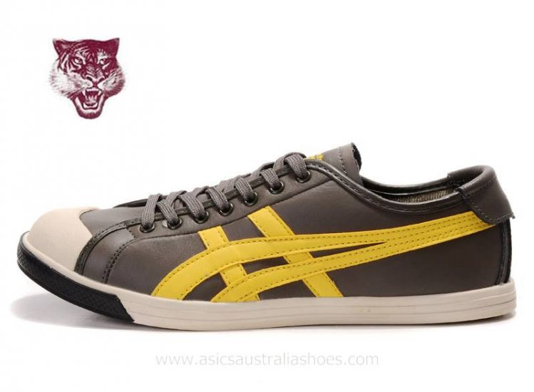 Onitsuka Tiger Coolidge Lo Olive Yellow mens Shoes