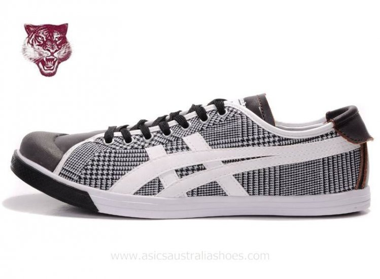 Onitsuka Tiger Coolidge Lo White Black mens Shoes