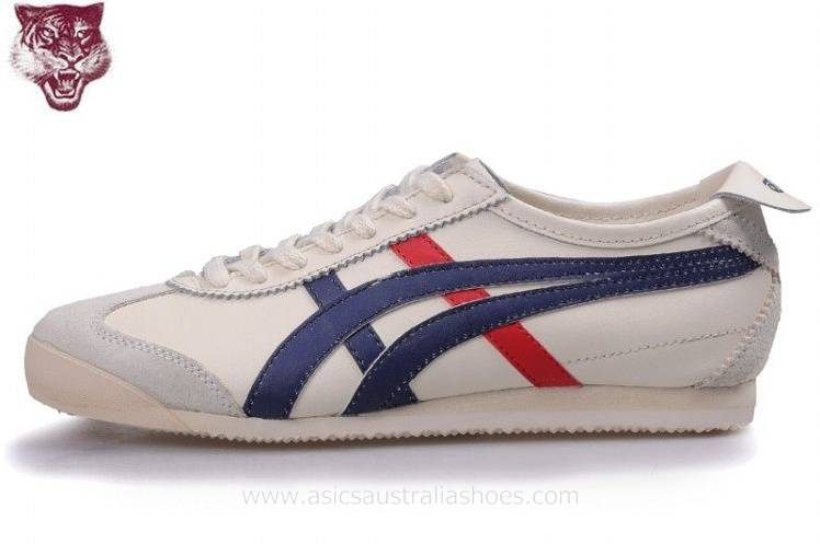 Onitsuka Tiger Kanuchi Beige Navy Shoes