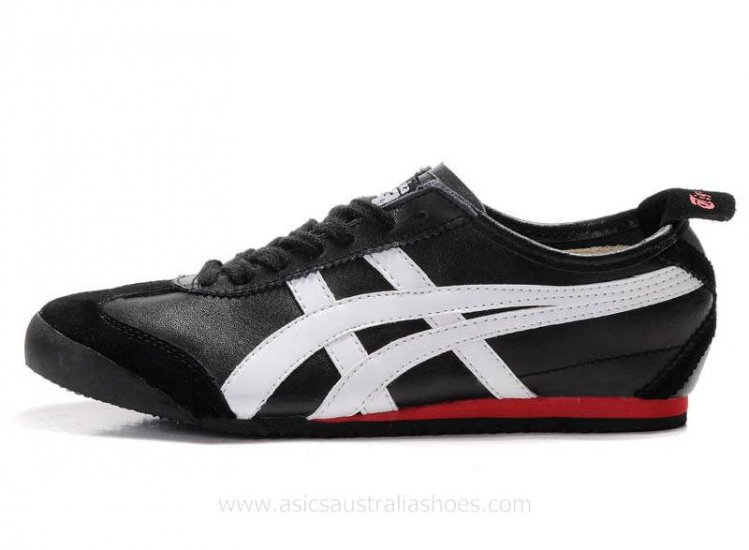 Onitsuka Tiger Kanuchi Shoes Black/White/Red