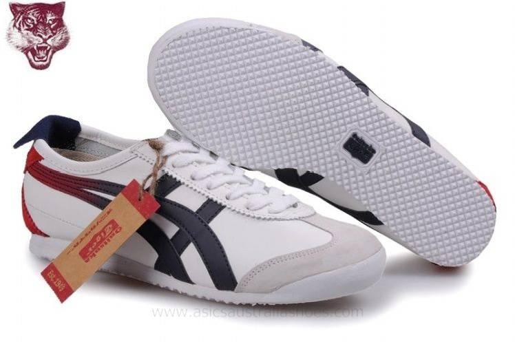 Onitsuka Tiger Kanuchi White Black Red Shoes