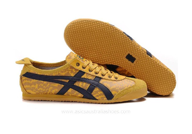 Onitsuka Tiger Lauta Yellow Black Shoes