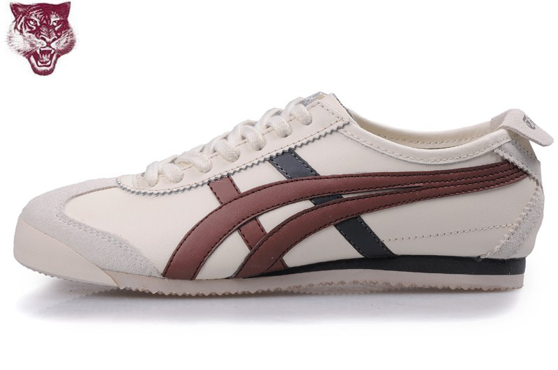 Onitsuka Tiger Mexico 66 Beige Brown Black