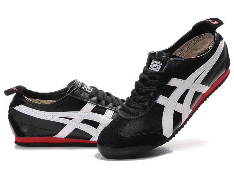 Onitsuka Tiger Mexico 66 Black White Red