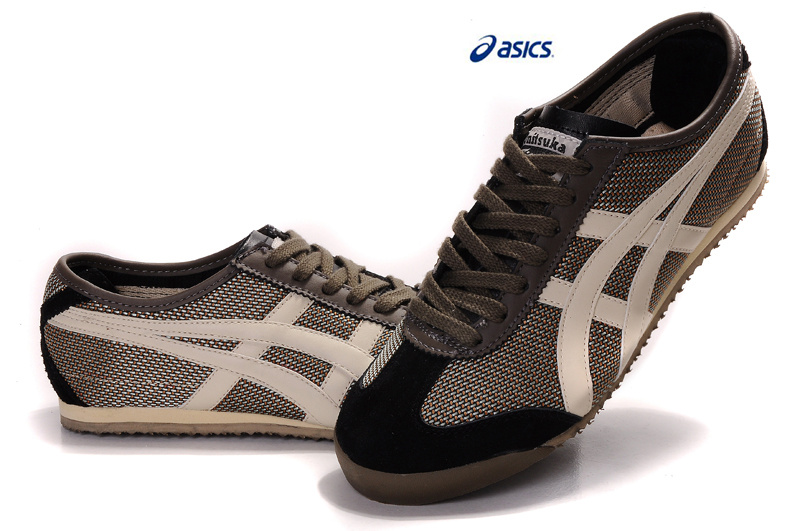 Onitsuka Tiger Mexico 66 Brown Beige Black