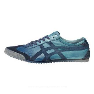 Onitsuka Tiger Mexico 66 Deluxe Blue Shoes