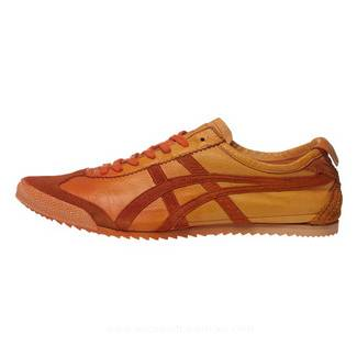 Onitsuka Tiger Mexico 66 Deluxe Orange Shoes