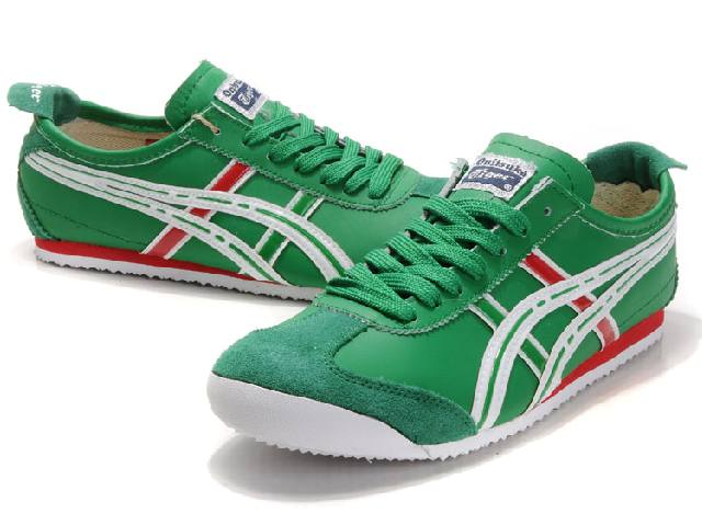 Onitsuka Tiger Mexico 66 Green White Red