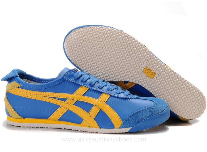 Onitsuka Tiger Mexico 66 Shoes Blue/Yellow