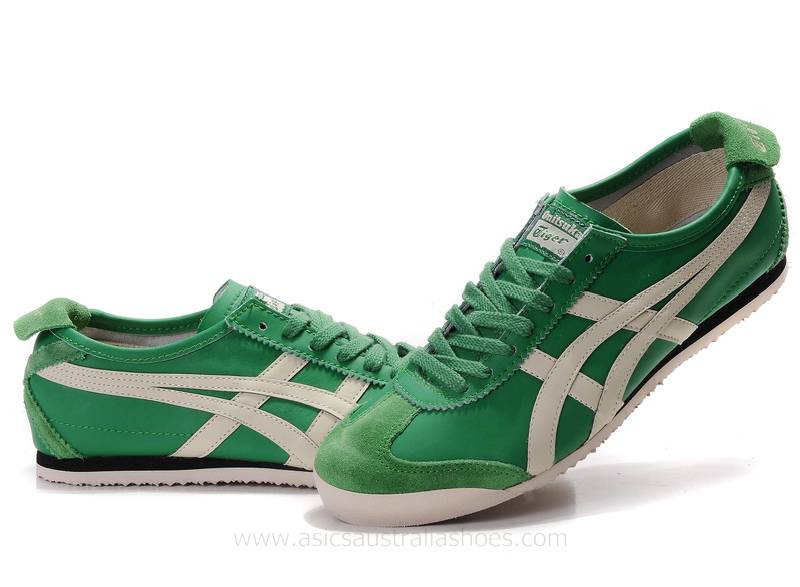Onitsuka Tiger Mexico 66 Shoes Green Beige