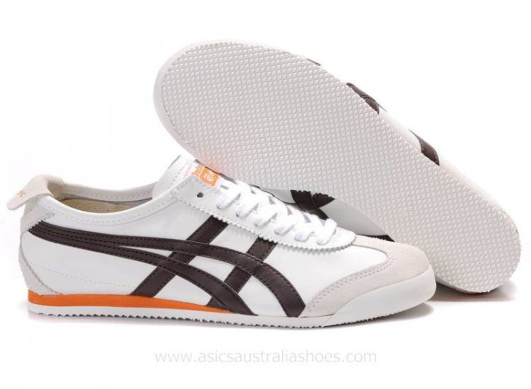 Onitsuka Tiger Mexico 66 Shoes White Brown