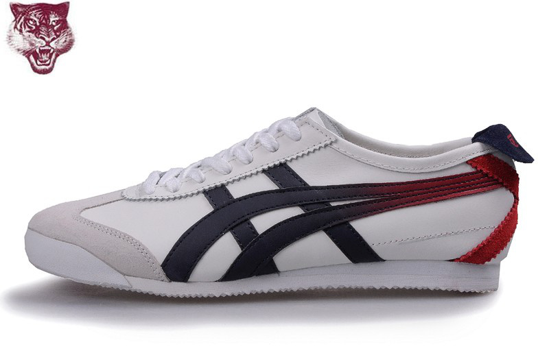 Onitsuka Tiger Mexico 66 White Blue Red