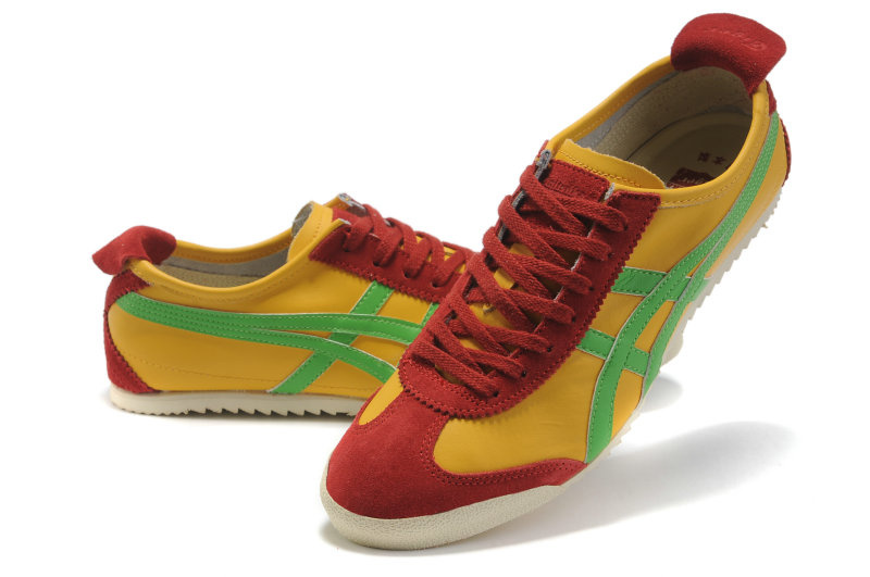 Onitsuka Tiger Mexico 66 Yellow Green Red