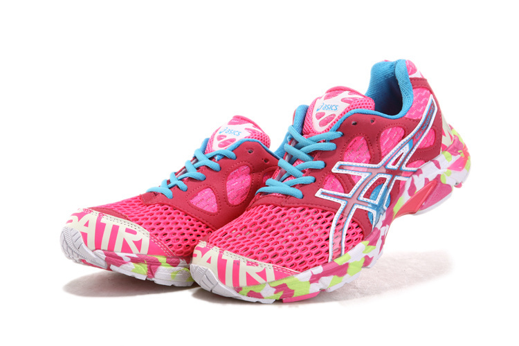 Womens Asics Gel noosa TRI 7 Pink Red Blue