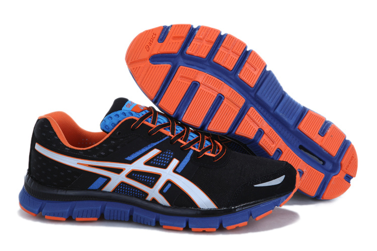 asics GEL-quik 33 men black blue orange