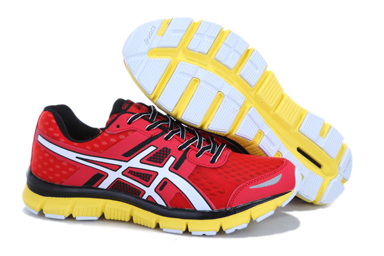 asics GEL-quik 33 men red yellow