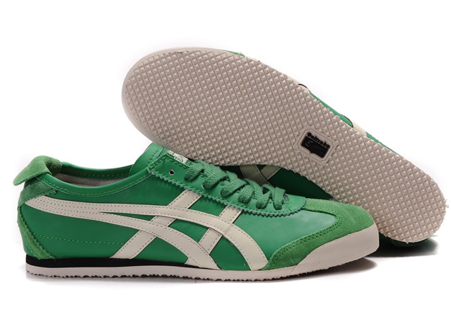 Asics Mexico 66 Shoes Green White