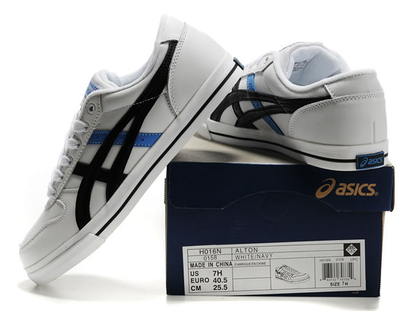 Asics Alton Shoes Blue White Black