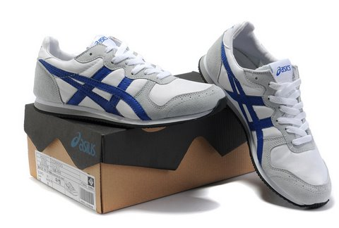 Asics Corrido Sneakers Shoes White Gray Blue