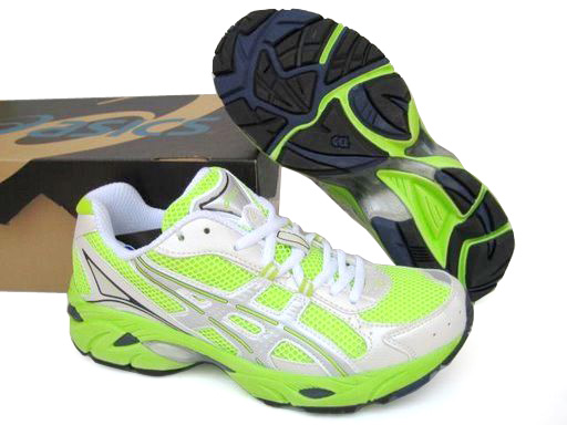 Asics Gel Duomax Shoes Green Silver Shoes