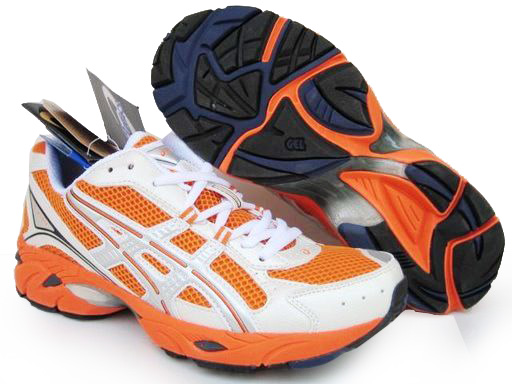 Asics Gel Duomax Shoes Orange White