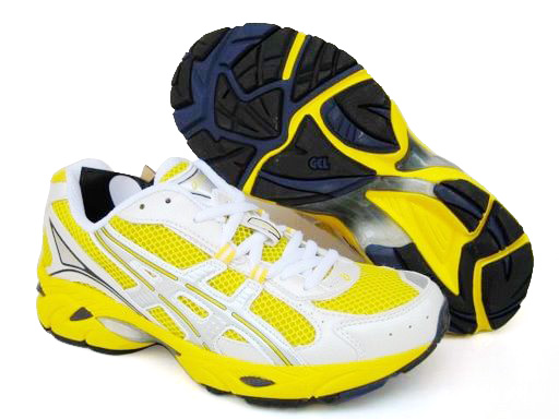 Asics Gel Duomax Shoes Yellow White