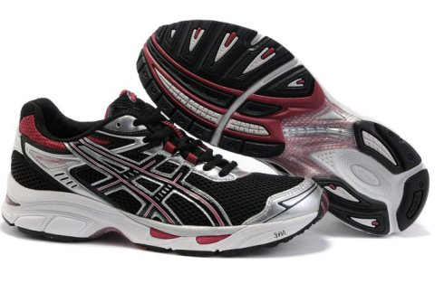 Asics Gel Virage 4 Mens Shoes Black Red