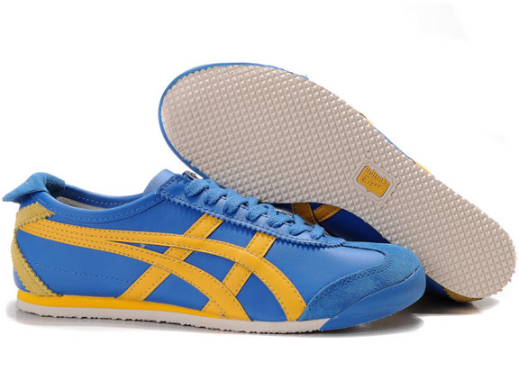 Asics Mexico 66 for Mens Shoes Blue Yellow