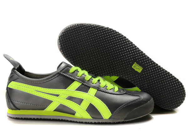 Asics Mexico 66 Lauta Shoes Black Light Green