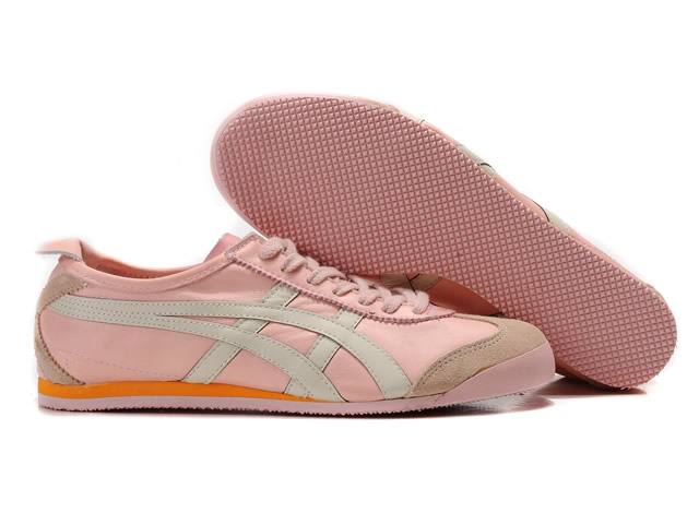 Asics Mexico 66 Mens Shoes Pink White Orange