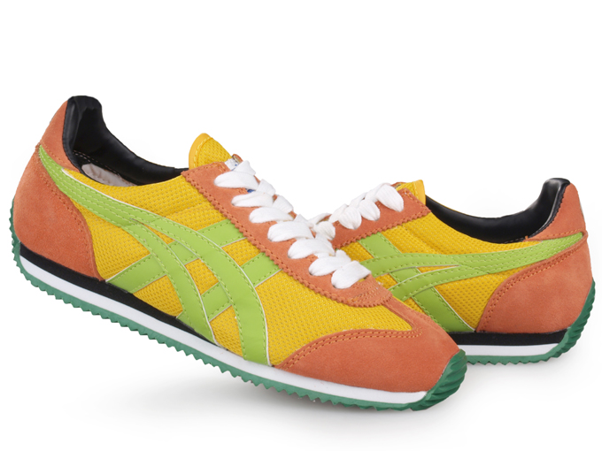 Asics Onitsuka Tiger California 78 Orange Yellow Green Shoes