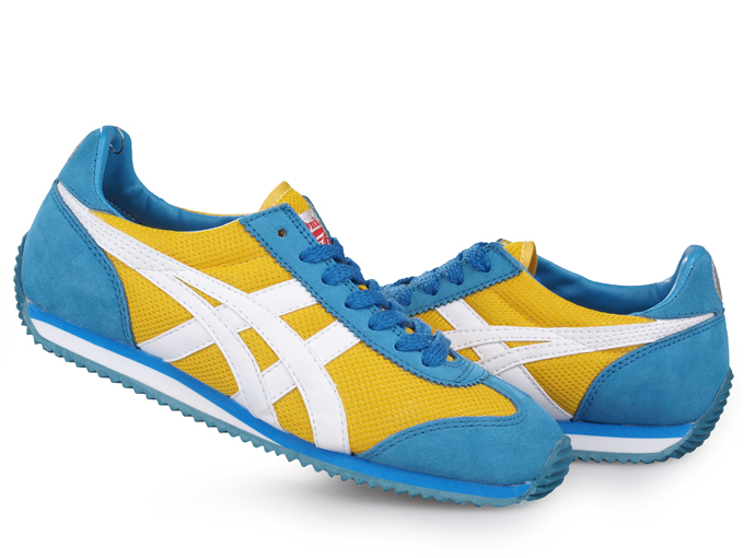 Asics Onitsuka Tiger California 78 Shoes Yellow White Blue