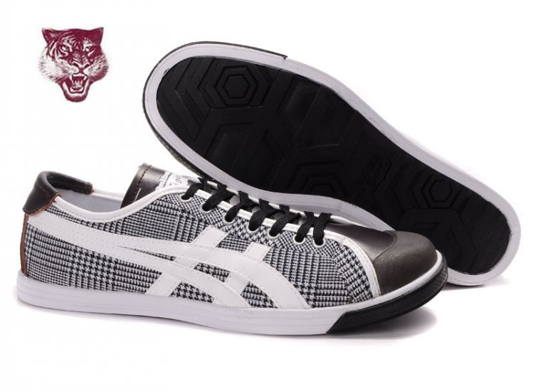 Asics Onitsuka Tiger Coolidge Lo Shoes White Black Brown