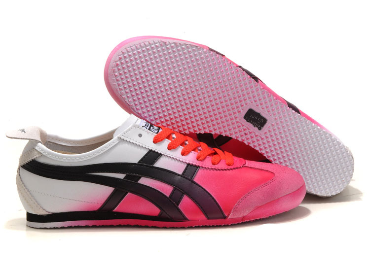 Asics Onitsuka Tiger Kanuchi White Pink Black Shoes