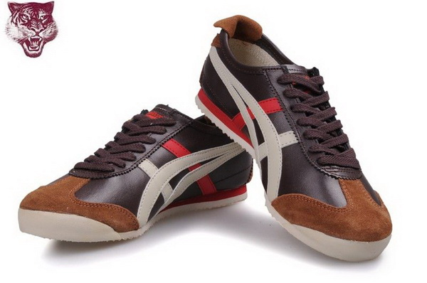 Asics Onitsuka Tiger Kanuchi Brown Beige Red Shoes