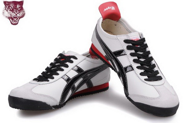 Asics Onitsuka Tiger Kanuchi Shoes Black White Red