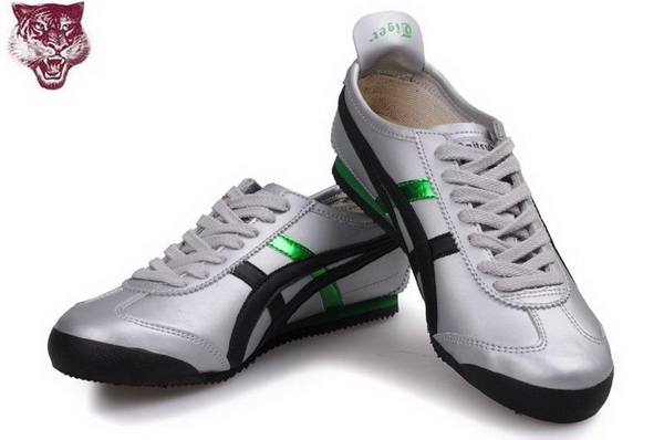 Asics Onitsuka Tiger Kanuchi Shoes Green Silver Black