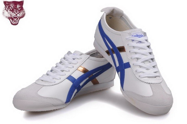Asics Onitsuka Tiger Kanuchi Shoes White Blue Gold
