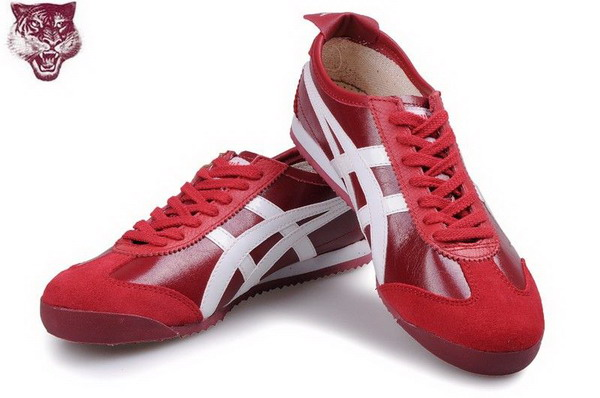 Asics Onitsuka Tiger Kanuchi Shoes Wine Red White