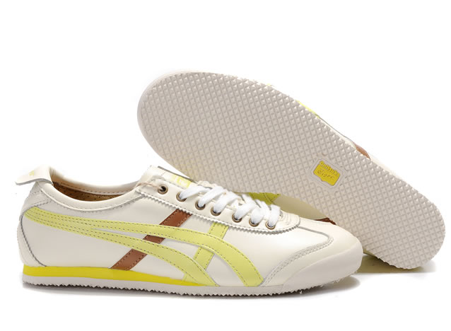 Asics Onitsuka Tiger Mexico 66 Lauta Shoes Beige Light Yellow Brown