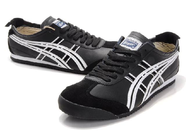 Asics Onitsuka Tiger Mexico 66 Mens Shoes Black White