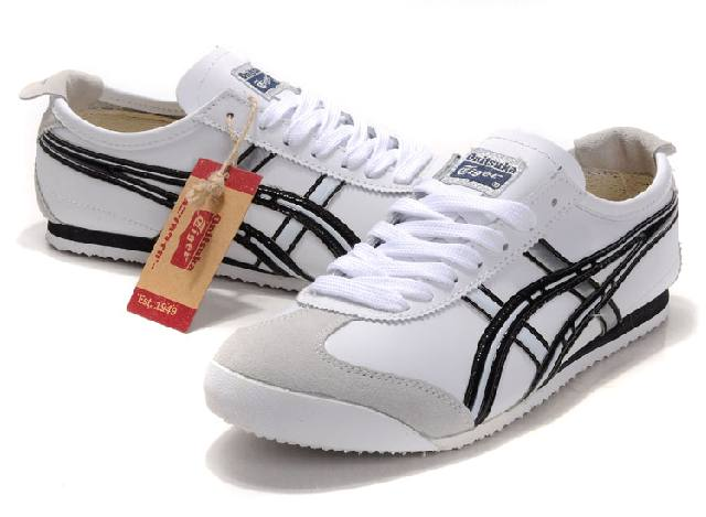 Asics Onitsuka Tiger Mexico 66 Shoes White Black
