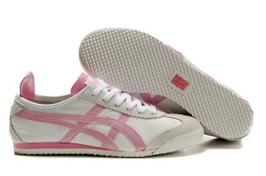 Asics Onitsuka Tiger Mexico 66 Womens Shoes White Pink