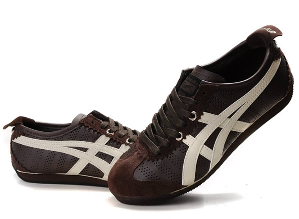 1ab36a809857 Asics Onitsuka Tiger Mini Cooper Shoes White Chocolate  AS-00454 ...