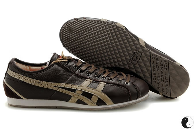 Asics Onitsuka Tiger Olympos Brown DarK Beige Shoes