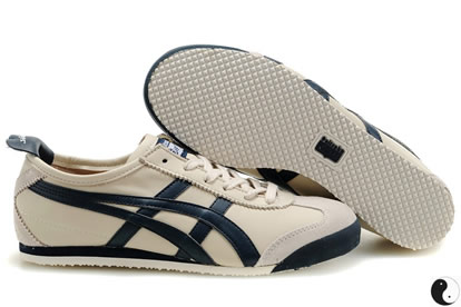 Asics Tiger Mexico 66 Shoes Grey Dark Blue
