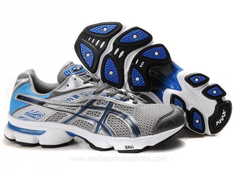 Asics Gel Stratus 2.1 mens Shoes Dark Grey/Blue/Silver