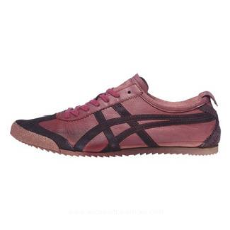 Onitsuka Tiger Mexico 66 Deluxe Claret Red Shoes