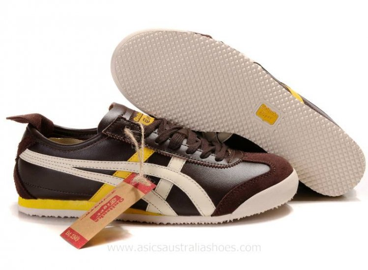 Onitsuka Tiger Mexico 66 Lauta Brown Beige Shoes